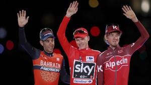 Froome ha necesitado seis años para ganar la Vuelta