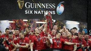 Gales celebra la victoria en esta edición del Seis Naciones