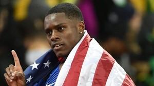 Gatlin es el campeón del mundo de los 100 metros