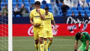 Gerard Moreno quiere mantener su olfato goleador delante de Ter Stegen