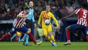 Griezmann fue insultado en su vuelta al Wanda Metropolitano