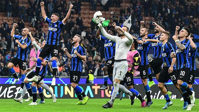 El Inter logra una importante victoria ante el Dortmund