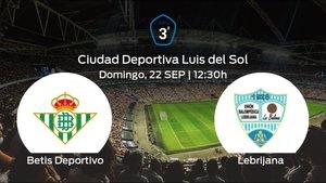 Jornada 5 de la Tercera División: previa del duelo Betis Deportivo - Lebrijana