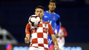 Kramaric dio el triunfo a Croacia