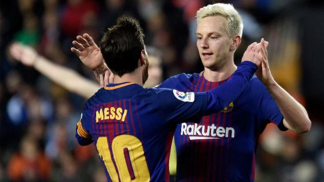 LACOPA | Valencia - FC Barcelona (0-2): Rakitic sentenció la eliminatoria tras un gran robo de Luis Suárez