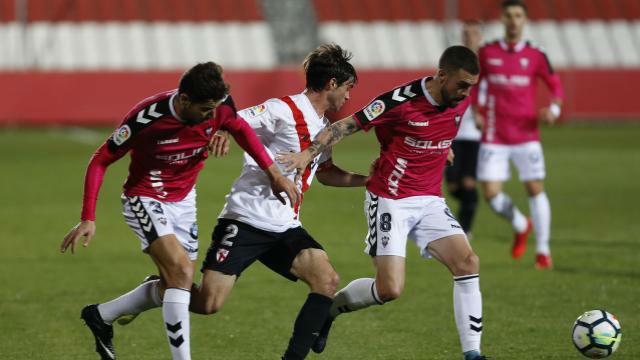 LALIGA 123   Sevilla Atlético - Albacete (1-2)