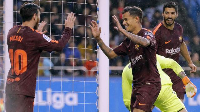 LALIGA | Deportivo - FC Barcelona (2-4): El primer gol de Messi