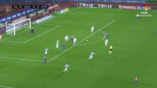 LALIGA | Real Sociedad - FCBarcelona (2-4): La excursión de Vermaelen
