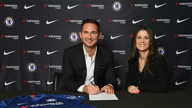 Lampard, en su presentación con el Chelsea: Estoy preparado