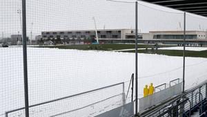 Las instalaciones de la Ciudad Deportiva de Valdebebas este lunes 5 de febrero
