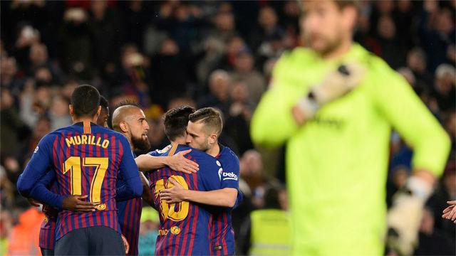 Las notas de los jugadores del Barça ante el Levante en la Copa del Rey