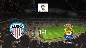 Las Palmas logra un empate a uno frente al Lugo