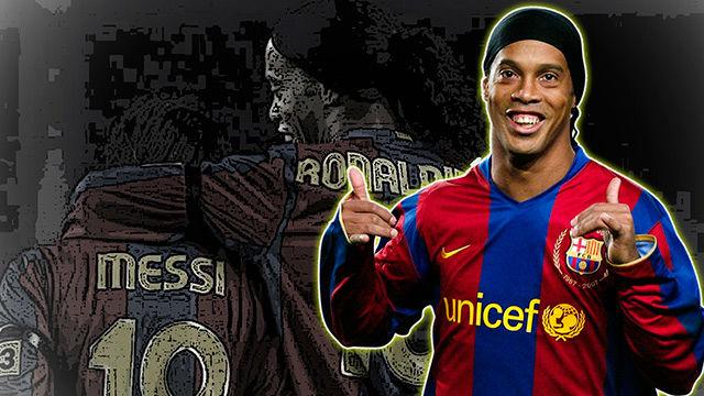 Tu legado es eterno, Ronaldinho