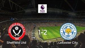 El Leicester se queda con los tres puntos después de derrotar 1-2 al Sheffield Utd