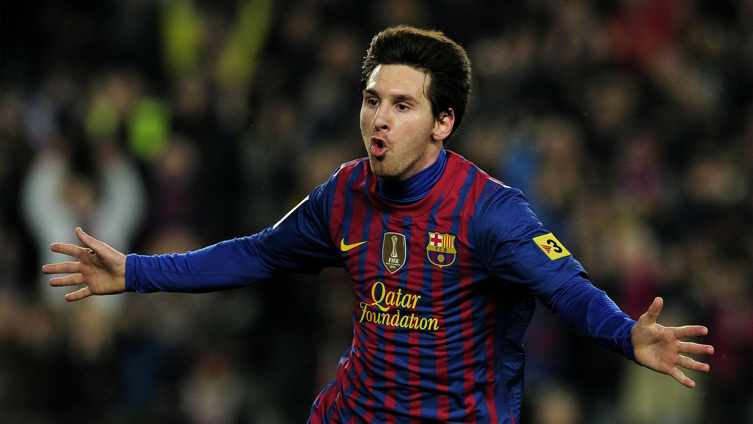 Los cuatro goles de Messi al Valencia en 2012