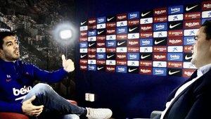 Luis Suárez, en la entrevista con Achraf Ben Ayad, de Bein Sports