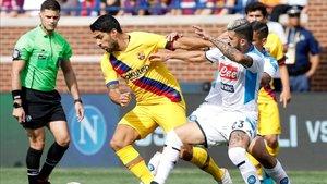 Luis Suárez, pichichi del FC Barcelona en la pretemporada