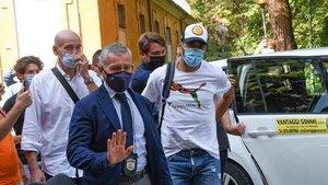 Luis Suárez realizó en examen de italiano