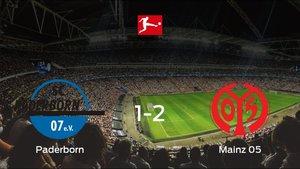 El Mainz 05 se lleva los tres puntos frente al Paderborn (1-2)
