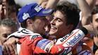 Márquez y Lorenzo, juntos las dos próximas temporadas en el equipo Repsol Honda