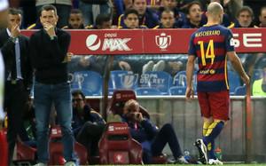 Mascherano puede abandonar el Barça este verano