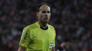 Mateu Lahoz pitará el duelo del Santiago Bernabéu