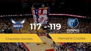 Memphis Grizzlies se impone por 117-119 frente a Charlotte Hornets