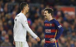 Messi y CR7, durante un Clásico de la temporada pasada