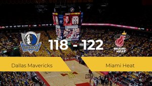 Miami Heat se lleva la victoria frente a Dallas Mavericks por 118-122