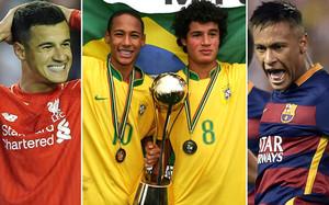 Neymar y Coutinho brillaron en el MIC de 2008