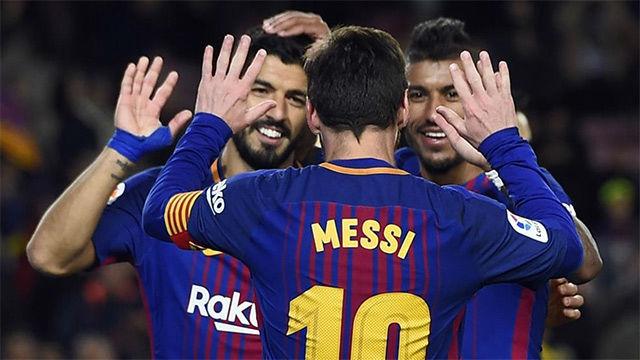 El once del Barça ante el Espanyol