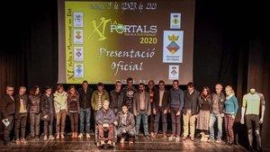 Presentaada La Portals 2020 en el Casinet de Collbató