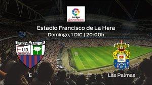 Previa del encuentro: el Extremadura UD recibe en casa al Las Palmas