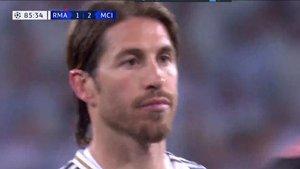 Ramos fue expulsado