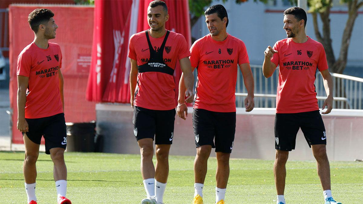 El Sevilla continúa con su puesta a punto a doce días del derbi
