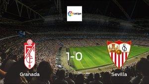 Sevilla suffers defeat against Granada with a 1-0 at Estadio Nuevo Los Carmenes