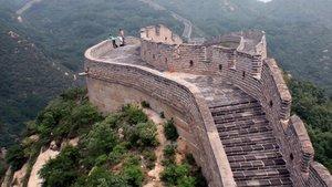 El tobogán de la Gran Muralla