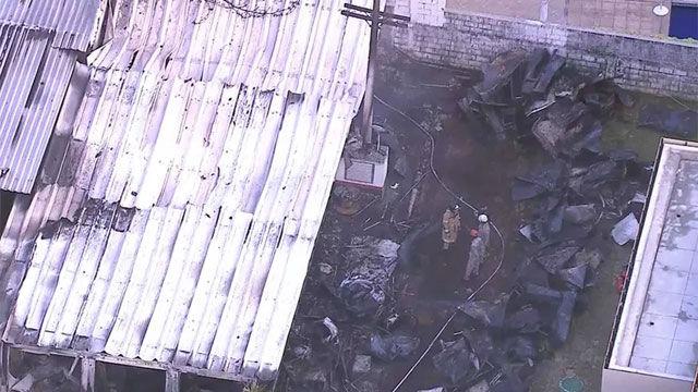 Tremendas imágenes del centro de entrenamiento del Flamengo, destruido