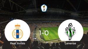 Tres puntos para el equipo local: Real Avilés 1-0 Lenense