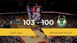 Utah Jazz se impone por 103-100 frente a Milwaukee Bucks