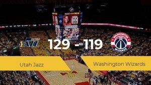 Utah Jazz se lleva la victoria frente a Washington Wizards por 129-119
