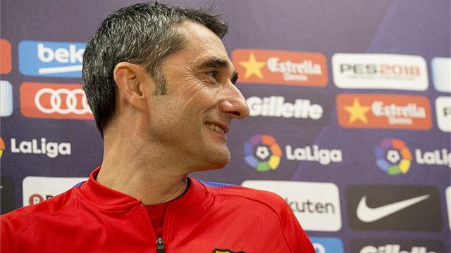 Valverde elogió a Sergi Roberto