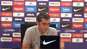 Valverde habló sobre el tema de los centrales