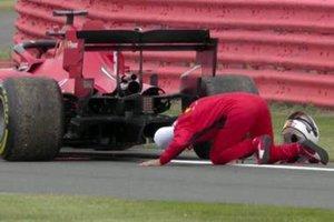 Vettel, en apuros el viernes