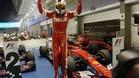 Vettel no da opción en Singapur