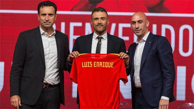 El vídeo de presentación de Luis Enrique como seleccionador de España