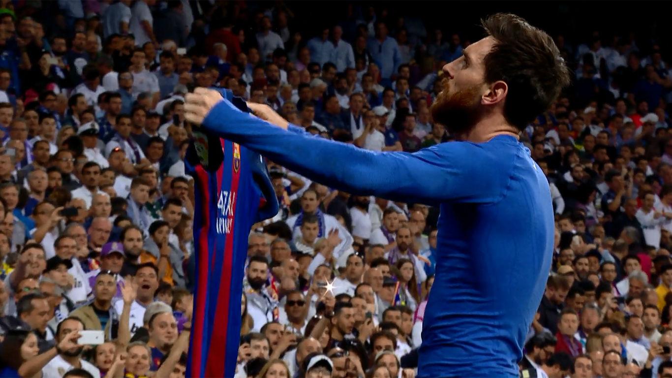 Video resumen: La brutal celebración de Messi al marcar el 2-3