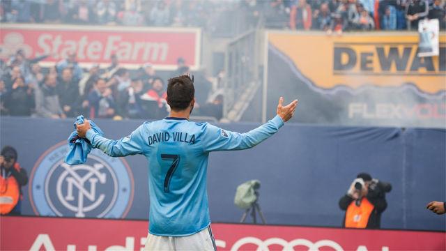 Villa explica su marcha de la MLS