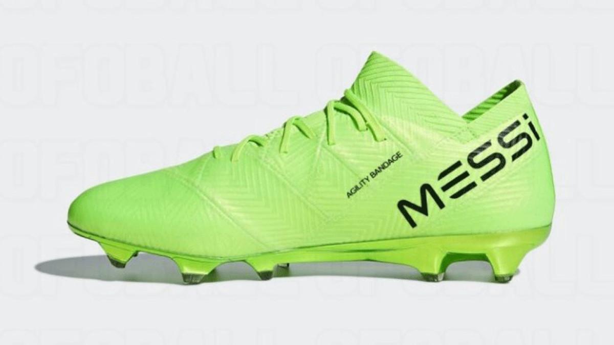 mejor amado muy genial chic clásico Messi estrena botas Adidas en el Mundial