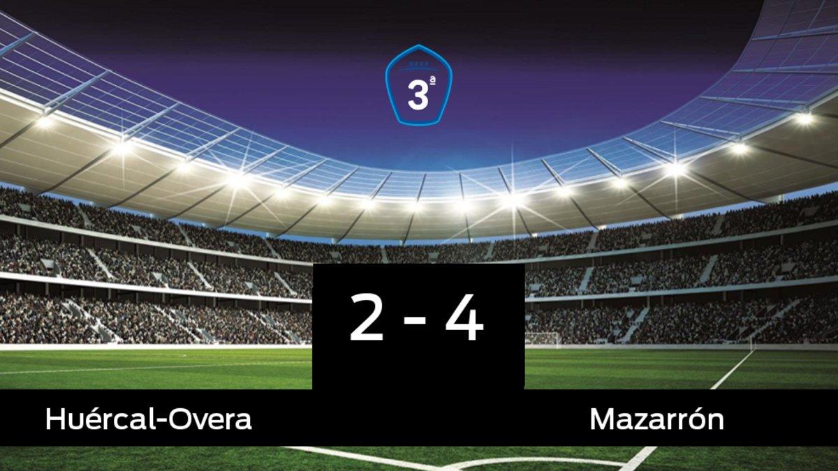 El Huércal-Overa cae frente al Mazarrón (2-4)